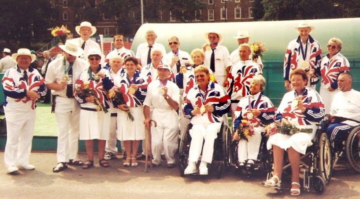 GB Bowls Team for Atlanta Paralympics