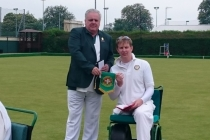 BWBA Chairman Paul Brown at Aylesbury Town BC